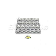 Блок линз 24B70-M120х120 (70°, 24x LED)