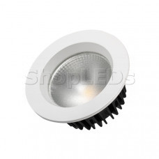 Светодиодный светильник LTD-105WH-FROST-9W Warm White 110deg
