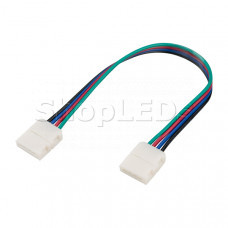 Коннектор выводной FIX-RGB-10mm-150mm-X2 (4-pin)