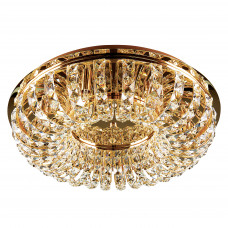 741072 (9287/7A) Люстра потол ONDA 7х40W G9 золото (в комплекте)