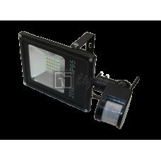 SMD SLIM 20W 220V IP65 Warm с датчиком