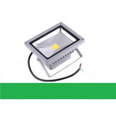 Светодиодный прожектор 30W IP65 220V Green